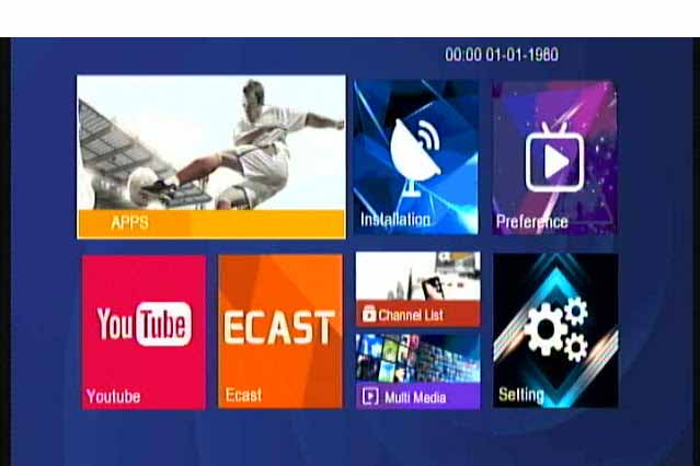HAWKS 555 BLUTOOTH 1506TV 512 8M NEW SOFTWARE WITH G SHARE PLUS V2 & CLASSICO PRO OPTION