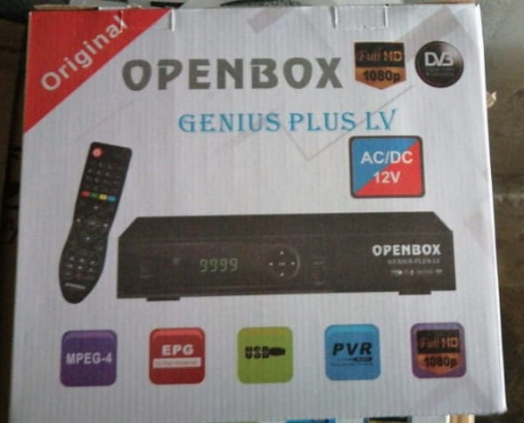 OPENBOX GENIUS PLUS 1506LV 1G 8M NEW SOFTWARE 16 MARCH 2021
