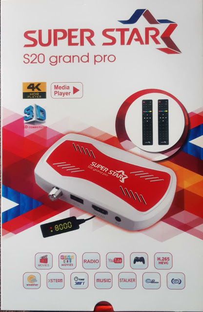 SUPER STAR S20 GRAND PRO HARDWARE DOLBY SOUND HD RECEIVER NEW SOFTWARE 23 FEBRUARY 2021